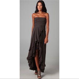 NWT Haute Hippie Bustier Draped Gown Dress Sz S